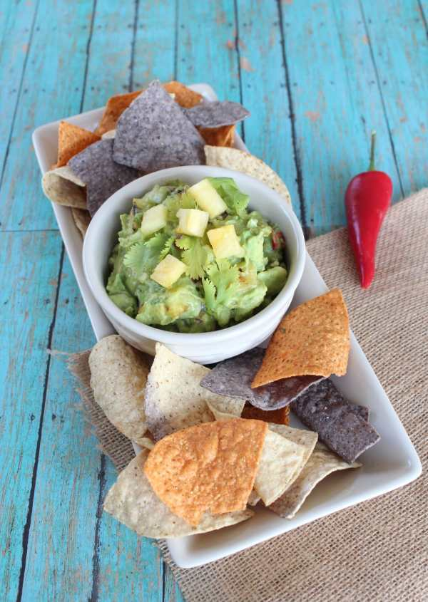 Sweet Pineapple Guacamole Recipe