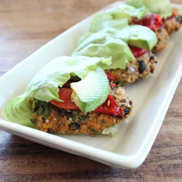 Vegetarian Black Bean Quinoa Burgers