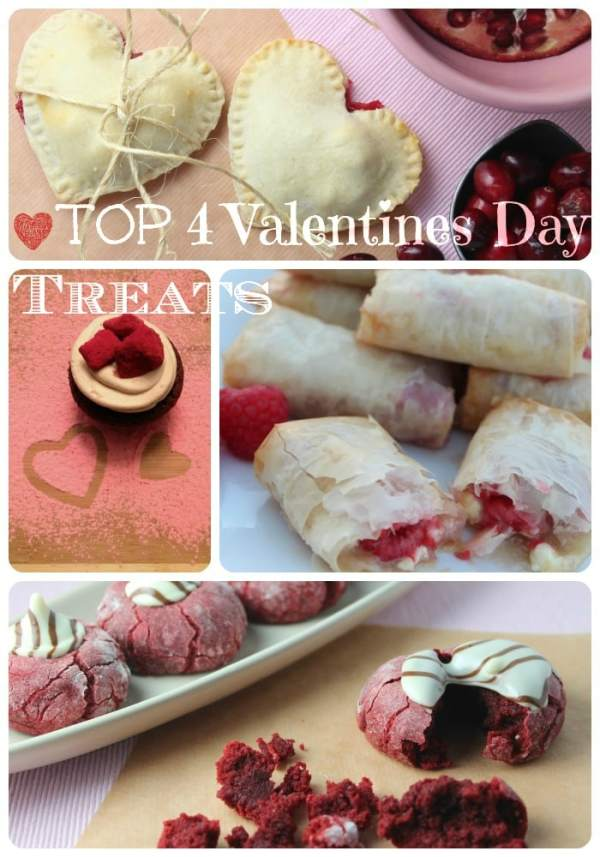 Top 4 Valentines Day Treats