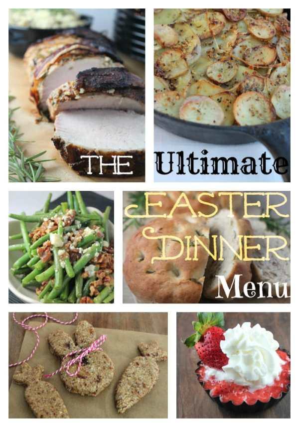 The Ultimate Easter Dinner Menu Little Leopard Book