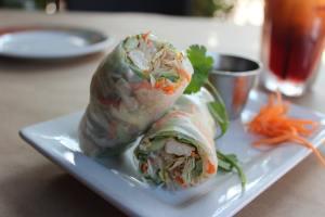 Fresh Veggie Tofu Spring Rolls