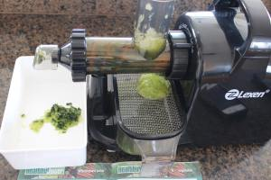 Juicing Cucumber with Healthy Juicer