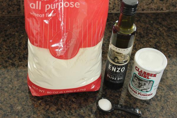 Roti Bread Ingredients