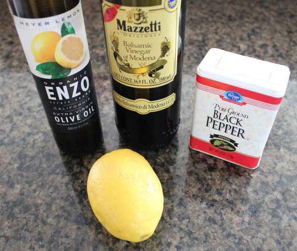 Lemon Vinaigrette Salad Dressing Ingredients