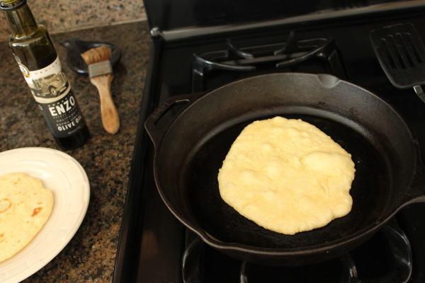 Pan Fried Roti Bread