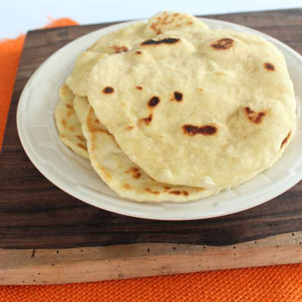 Pan Fried Thai Roti Bread