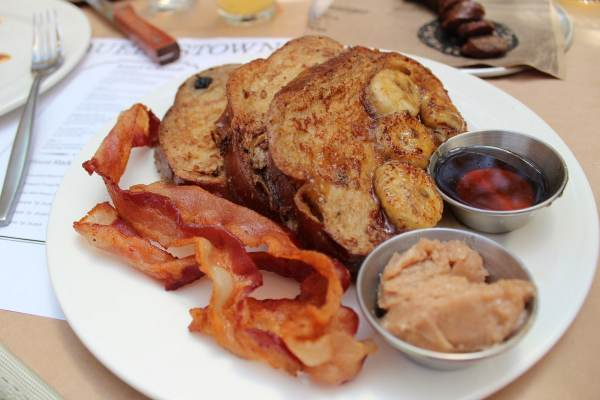 French Toast at Queenstown San Diego