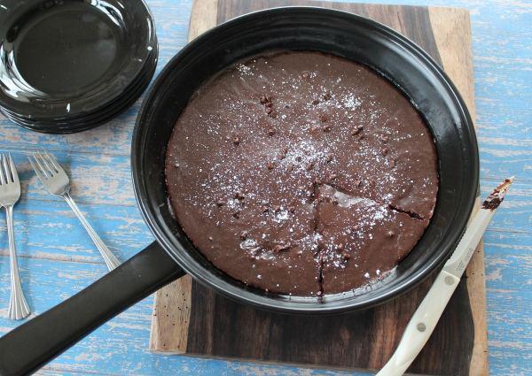 Gluten Free Skillet Brownie