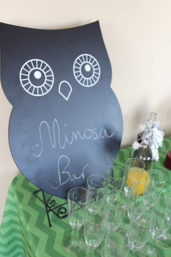 Mimosa Bar Chalkboard
