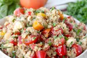 Quinoa Caprese Salad Recipe