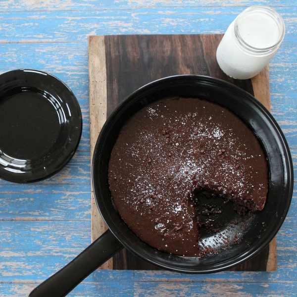Gluten Free Brownie Skillet