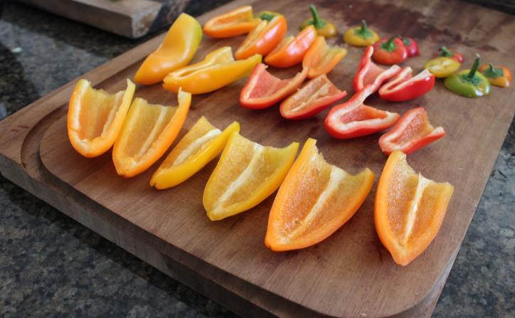 Small Peppers for Stuffing