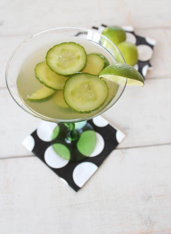 Fresh Cucumber Jalapeno Margarita
