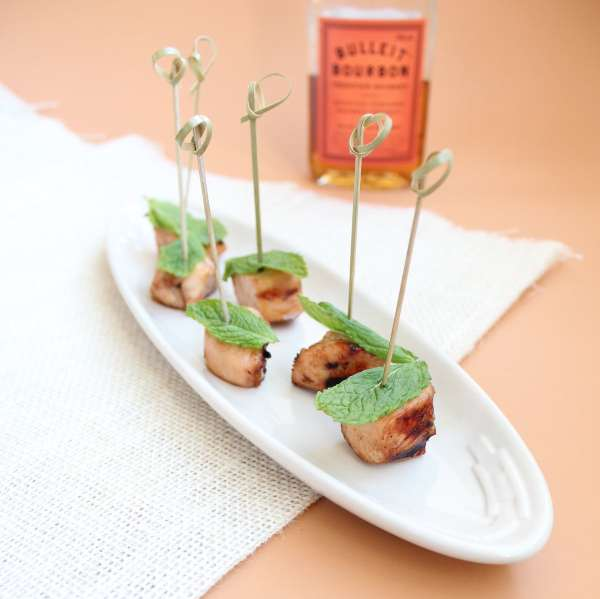 Mint Julep Chicken Skewers