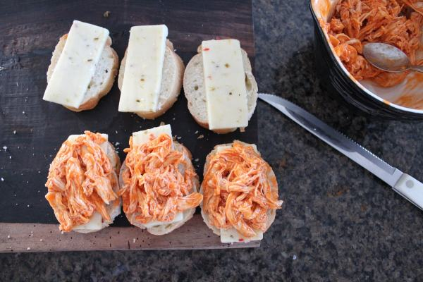 Buffalo Chicken Pepper Jack Grilled Cheese Recipe
