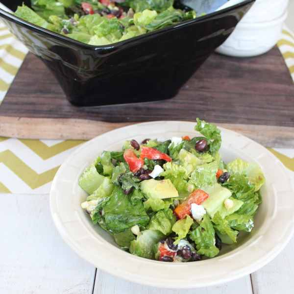 Grilled Romaine Chopped Salad