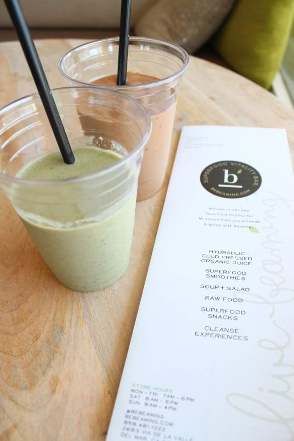 bBar Del Mar Smoothies