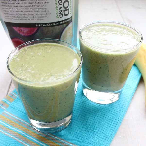bBar Lean and Green Smoothie