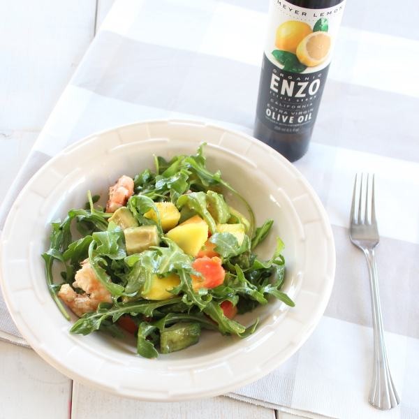 Lemon Pepper Shrimp Salad