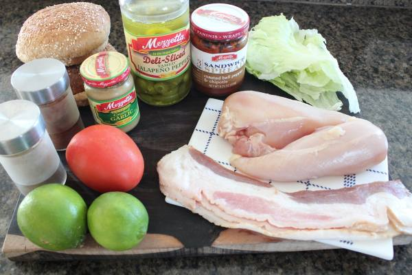 Chipotle Chicken BLT Ingredients