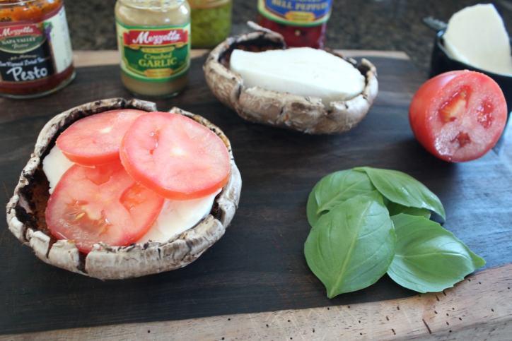Portobello Caprese Sandwich Recipe