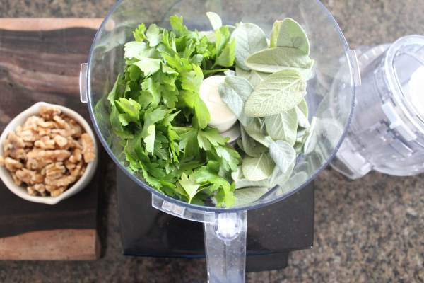 Walnut Sage Pesto Recipe