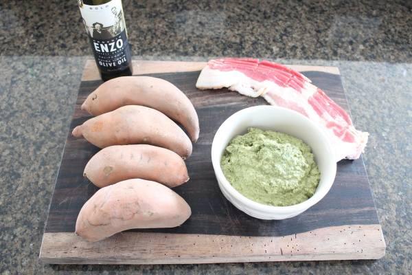 Paleo Sweet Potato Skin Ingredients