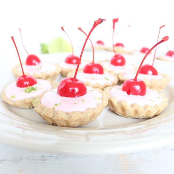 Gluten Free Mini Cherry Limeade Tarts