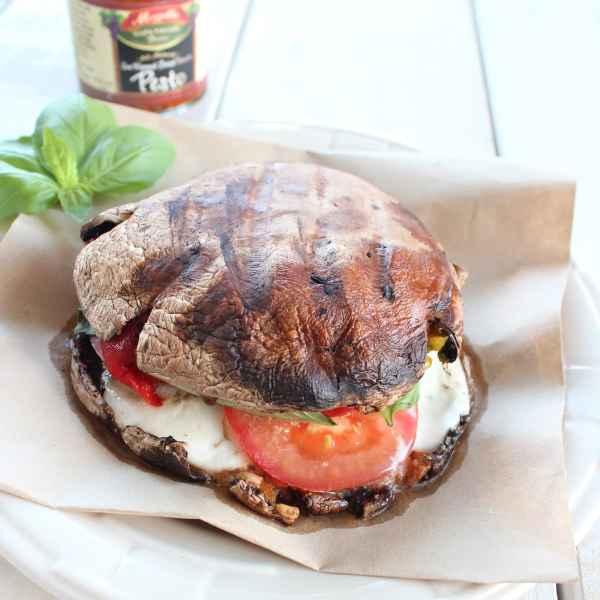 Italian Vegetarian Caprese Sandwich