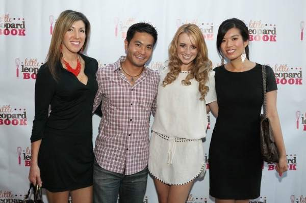 Whitney Bond and friends at Little Leopard Book Party