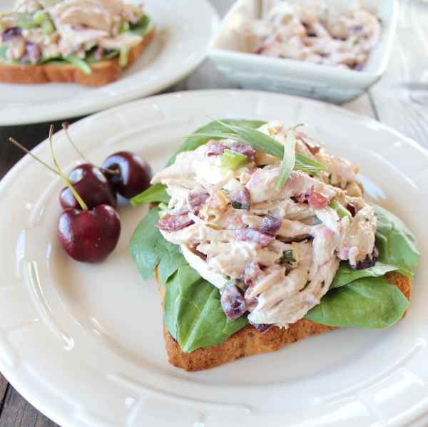 Gluten Free Cherry Tarragon Chicken Salad