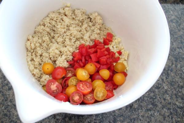 Quinoa Corn Tomato Salad Recipe