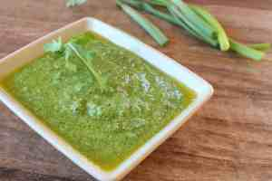 Arugula Green Onion Pesto