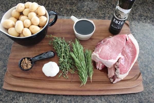 Rosemary Steak Skewer Ingredients