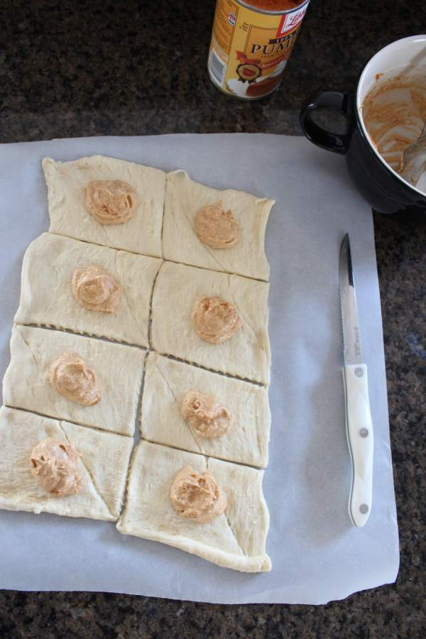 Pumpkin Filled Pastry Recipe