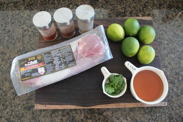 Chipotle Honey Slow Cooker Pulled Pork Tenderloin Ingredients
