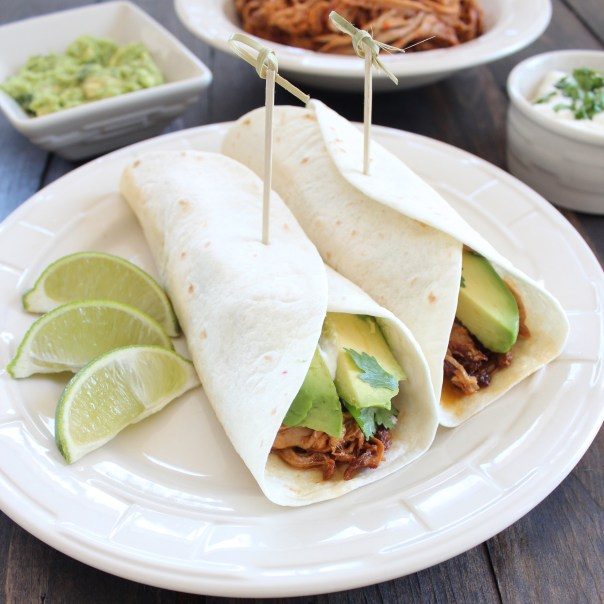 Chipotle Honey Pulled Pork Tacos