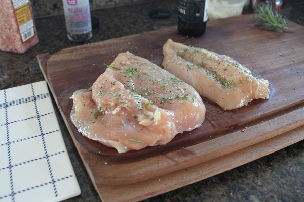 Rosemary Seasoned Chicken Breasts
