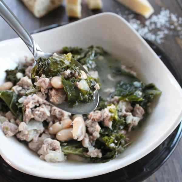 Turkey Kale Soup Recipe