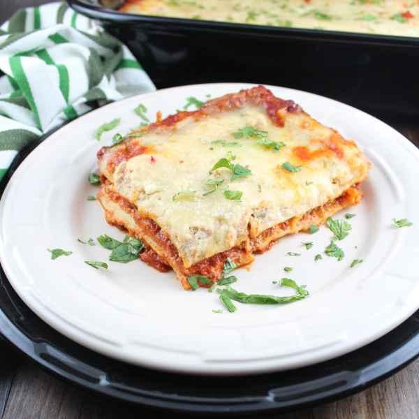 Vegetarian Chorizo Mexican Lasagna
