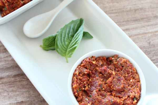 Sun Dried Tomato Basil Pesto