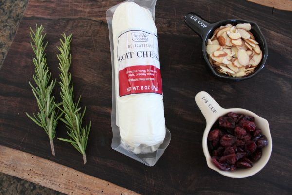 Cranberry Goat Cheese Ball Ingredients