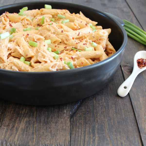 Mexican Chicken Cheesy Pasta