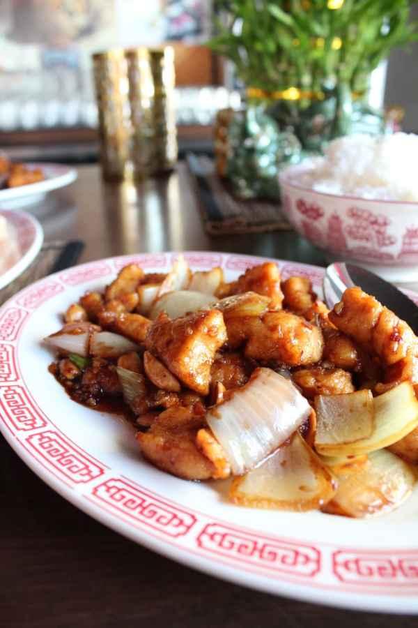 Chinese Restaurant Kung Pao Chicken