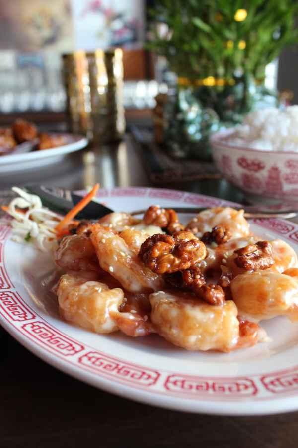 Chinese Restaurant Honey Walnut Shrimp
