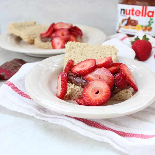 Nutella Strawberry Shortcake