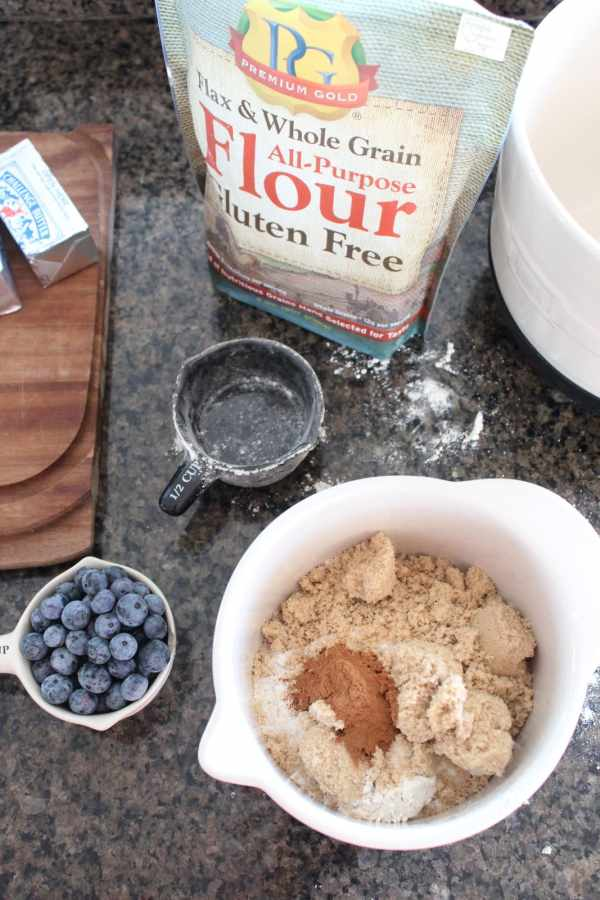 Gluten Free Coffee Crumb Cake Recipe