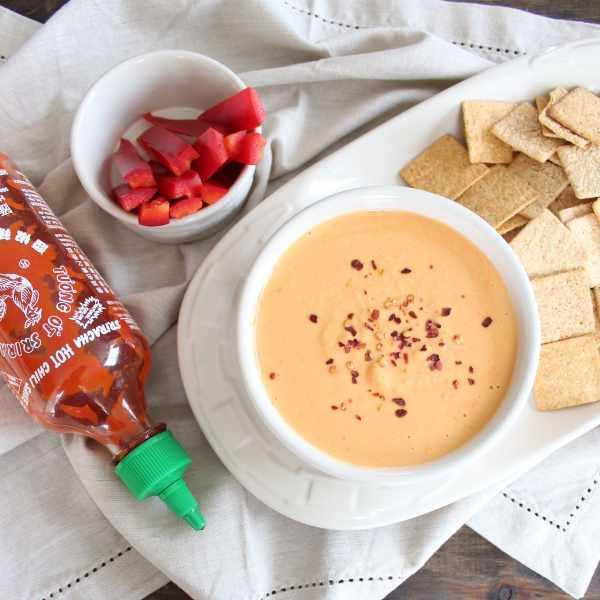Gluten Free Sriracha Hummus