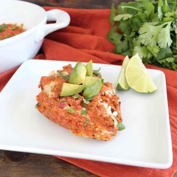 Gluten Free Quinoa Crusted Mexican Chicken