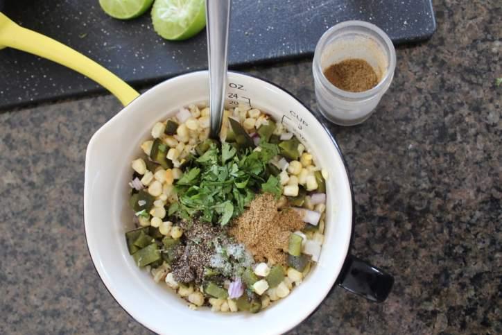 Roasted Poblano Corn Salsa Recipe
